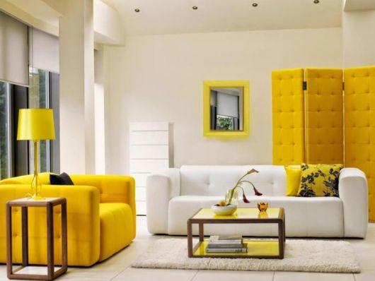 Os móveis podem dar outra cara para sua sala de estar