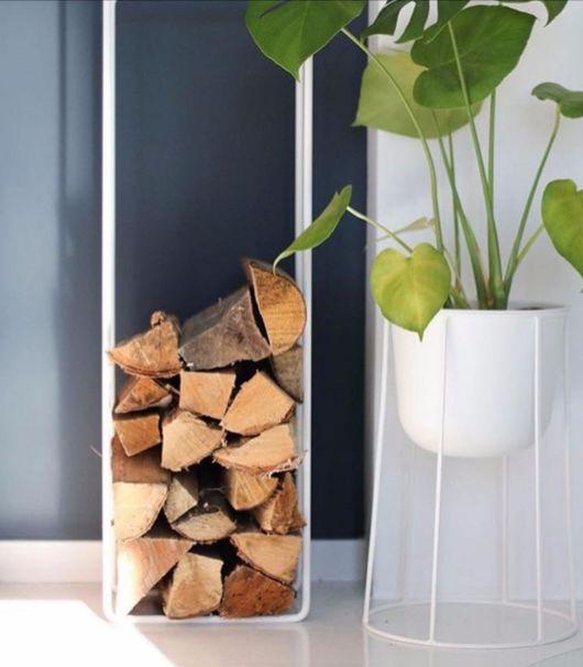 Com esse suporte de chão, você evita marcas no piso e prejuízos no próprio vaso