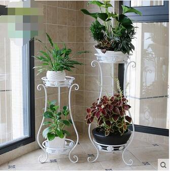 Suporte decorativo para vasos grandes