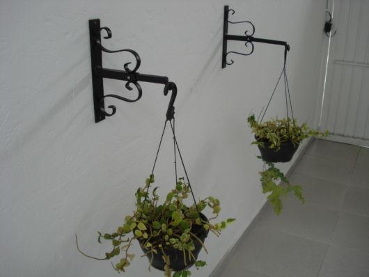 Suporte de parede para uma decoração rústica