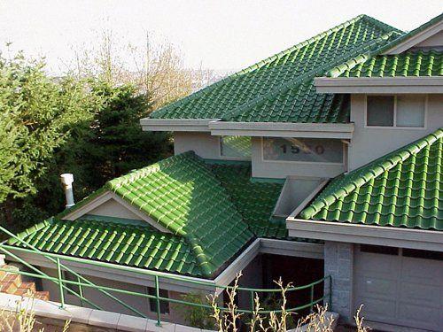 Já pensou em uma casa com telhado verde?