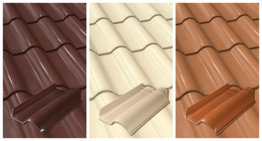 Preços das telhas esmaltadas