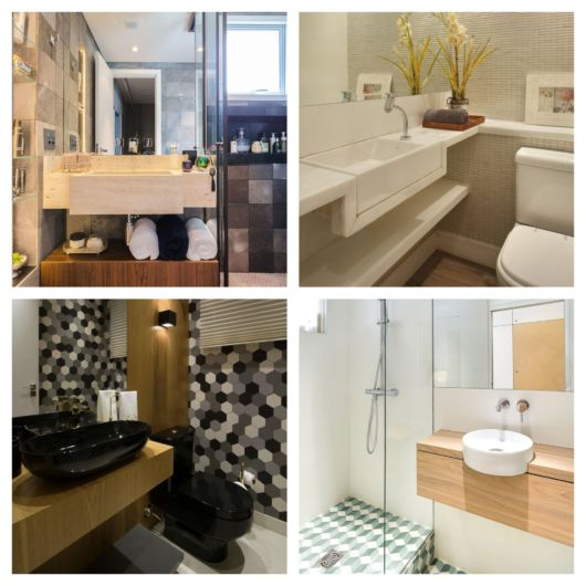 Seu banheiro pode ficar mais organizado e sofisticado com essa peça
