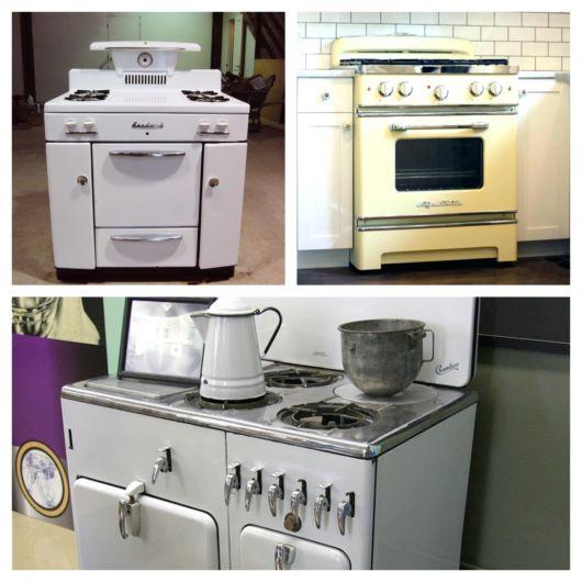 Veja como os detalhes mudam em cada padrão de fogão, por isso há opções para todos os