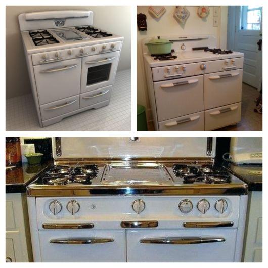 40 opções de fogão retrô + dicas especiais de decoração