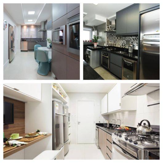 Uma cozinha planejada e bem organizada deixa seu apartamento sofisticado e harmônico