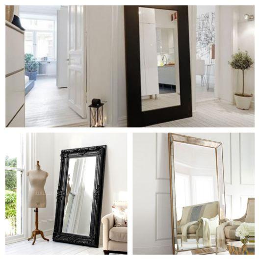 50 lindos modelos de espelho de chão para a decoração da sua casa