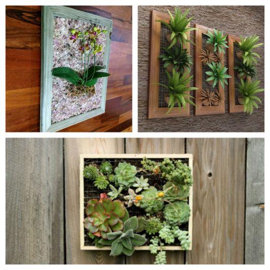 Você mesmo pode confeccionar um quadro desses para dar um up na decoração do ambiente