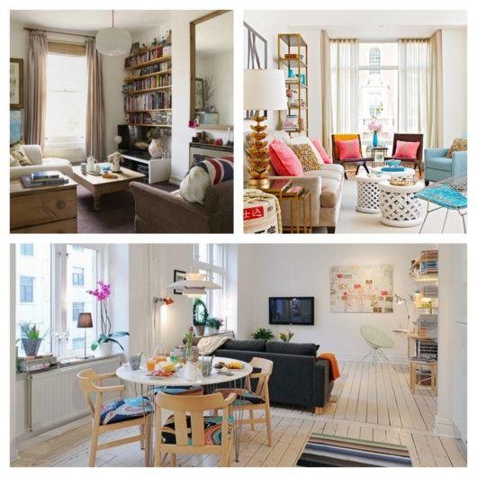Uma sala bem iluminada faz toda a diferença, como nesses projetos