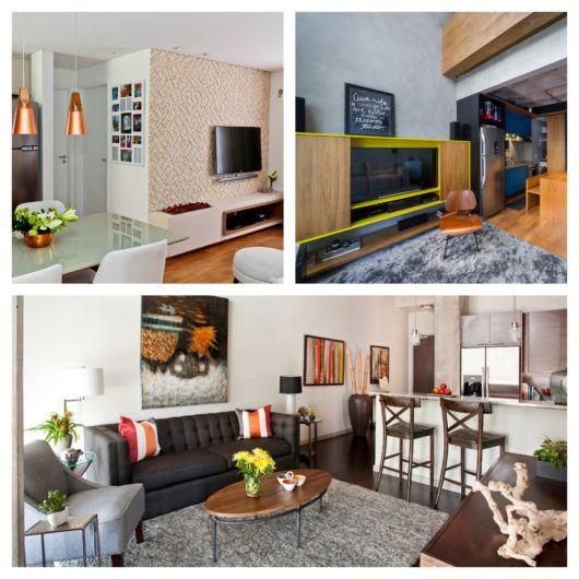 Inspirações de sala de apartamento pequeno + dicas para seu projeto