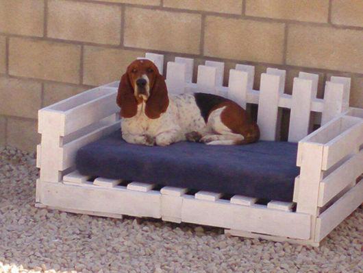 Pallets podem se transformar em uma cama muito aconchegante