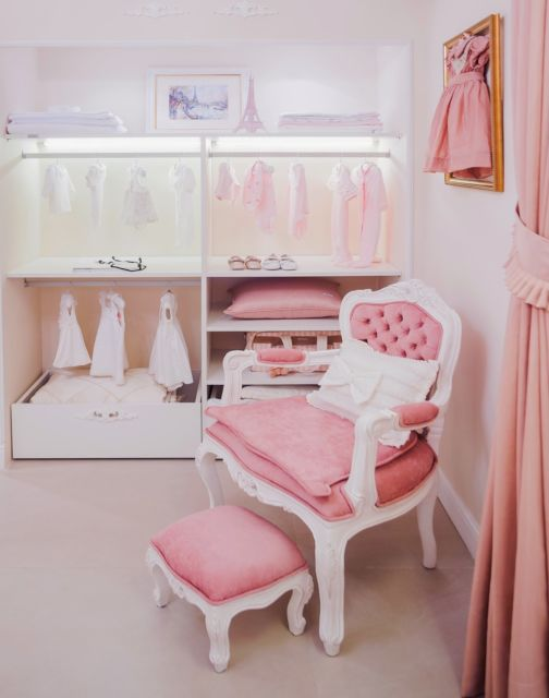 Versão minimalista para um quarto infantil