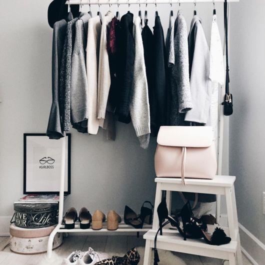 Uma tendência ideal para apartamentos e quartos pequenos