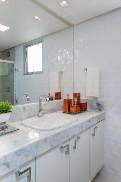 Projeto convencional que se adapta a qualquer padrão de banheiro