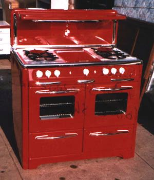 Uma versão antiga que era muito utilizada em cozinhas grandes