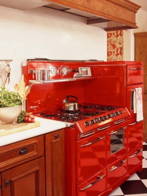 Uma boa ideia para quem deseja deixar sua cozinha com um toque antigo