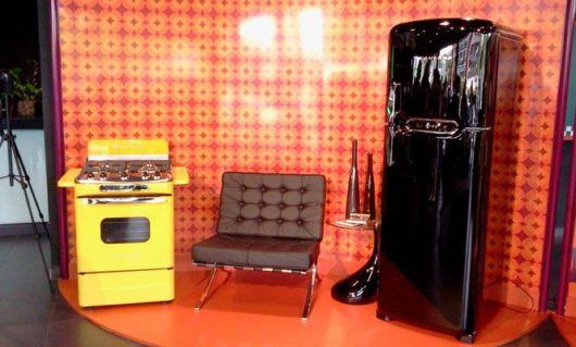Combine o fogão com o conceito decorativo de seu cômodo