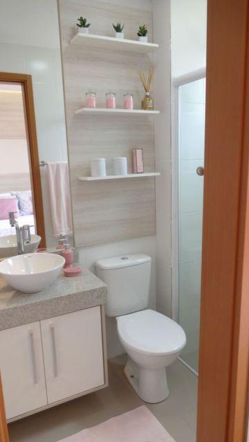 banheiro pequeno e planejado