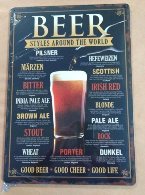 placa de cerveja