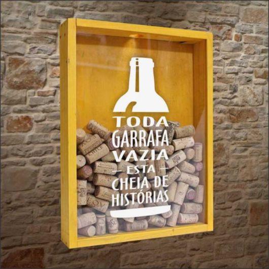 Toda garrafa vazia está cheia de histórias