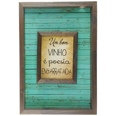 Um bom vinho é poesia engarrafada