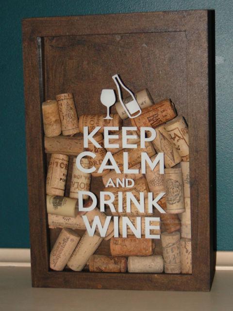 Para deixar rolhas de vinhos e das mais variadas bebidas