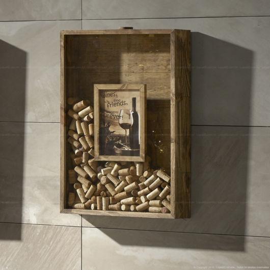 Caixinha quadrada customizada de madeira