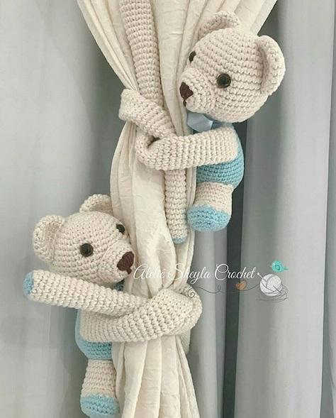 modelo de crochê amigurumi