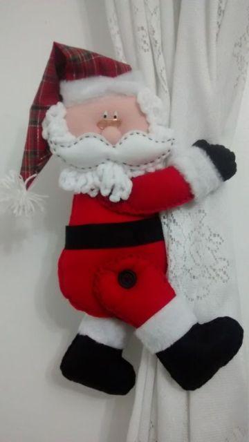 modelo de Papai Noel