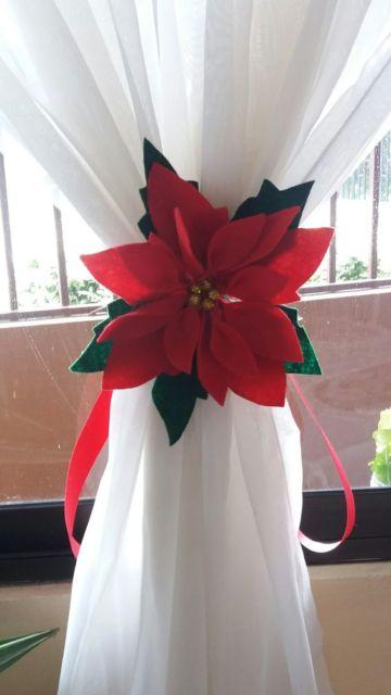 modelo natalino de feltro