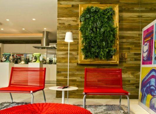 Uma bela opção grande e bem destacada para decorar seu escritório