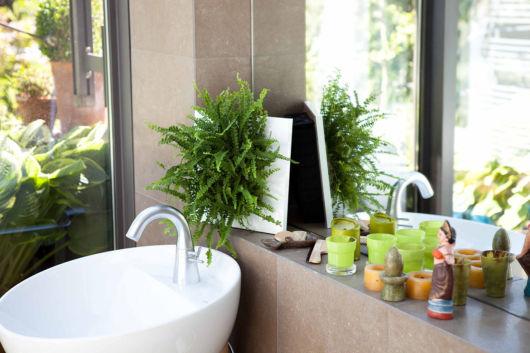 Os quadros vivos são ideais para banheiros e áreas de relaxamento também