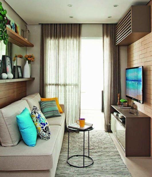 Esses projetos modernos agradam pessoas que moram sozinhas em apartamentos compactos