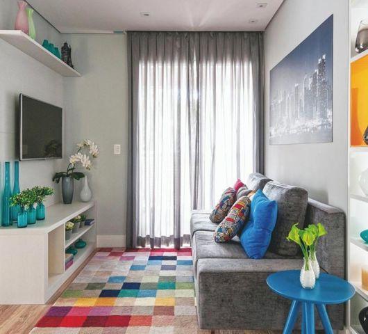 O equilíbrio de cores também é muito importante na decoração de sua casa