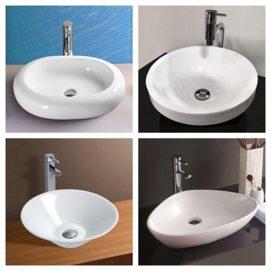 70 modelos de cuba redonda + dicas para otimizar a decoração do seu banheiro