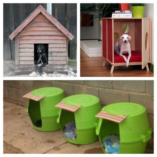Modelos surpreendentes de casinha de cachorro + tutoriais fáceis para fazer passo a passo