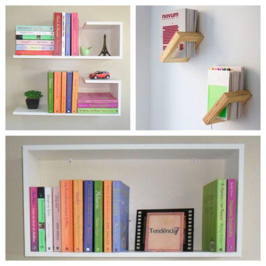 50 lindos modelos de nichos para livros organizar e decorar seu cômodo50 lindos modelos de nichos para livros organizar e decorar seu cômodo