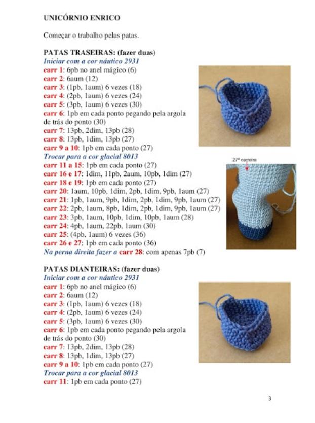 Receita pufe Urso Focinho - (PDF) no Elo7 | Mix Rô (B38E1C) | 834x622