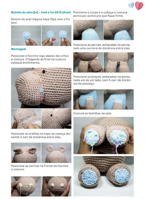 Amigurumi: Bichinhos de Crochê – Receitas & 70 Ideias Fofíssimas ... | 842x617