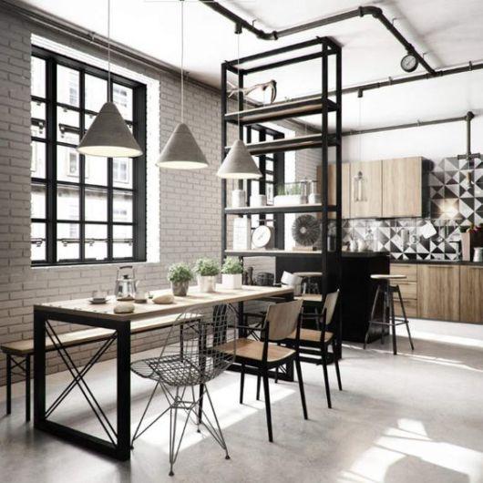 Área Gourmet Rústica Moderna.