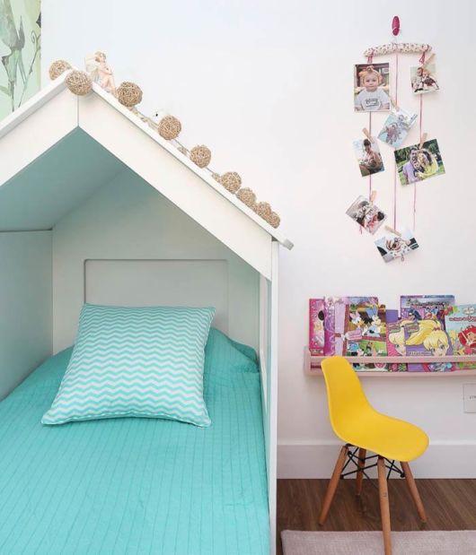 Um modelo ideal para um quarto contemporâneo juvenil