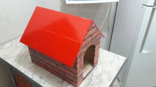 Modelo que imita tijolo muito fácil de confeccionar