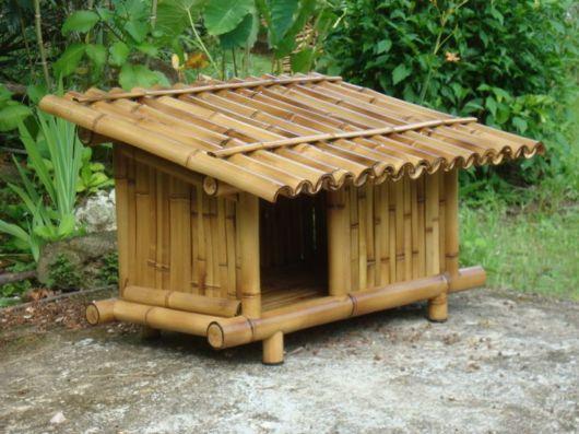 Modelo de bambu trançado super requintado