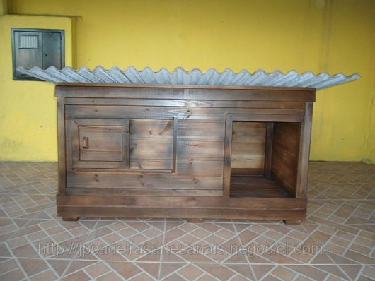 Como fazer uma casinha de cachorro de madeira passo a passo