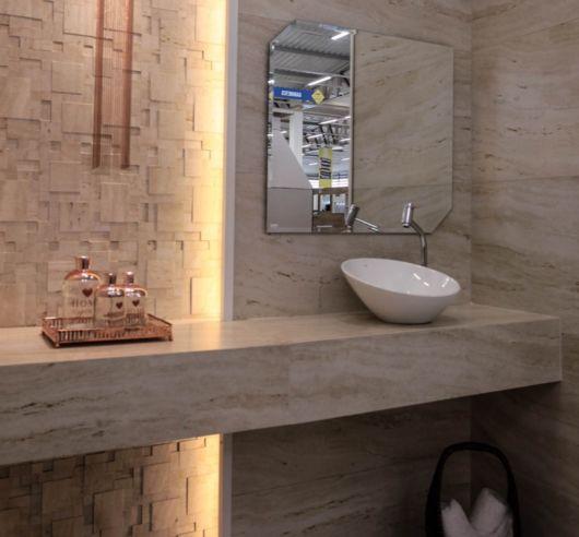 A cuba branca é versátil e se complementa a qualquer estilo de decoração
