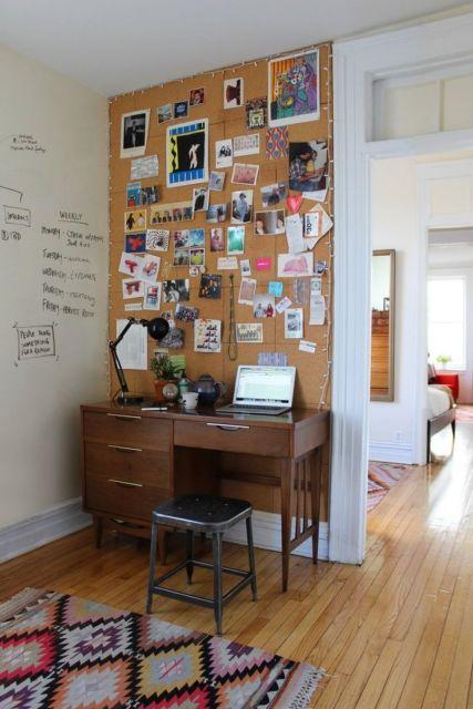 É bem fácil montar um home office utilizando esse aparato