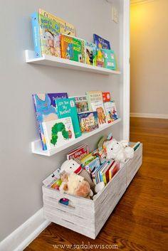Instale os nichos em locais estratégicos do quarto