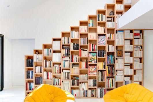 Para quem prefere estruturas enormes para deixar diversos livros