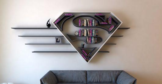 Para os geeks de plantão, um nicho enorme personalizado com inspiração no Super Homem