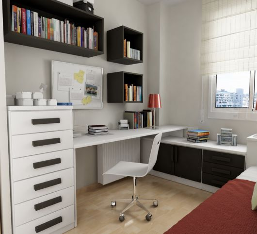 nicho para escritório para livros